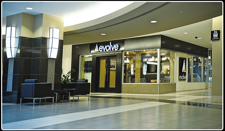 Evolve 5th Ave | Clinic Entrance | Evolve Chiropractic and Wellness | Downtown Calgary