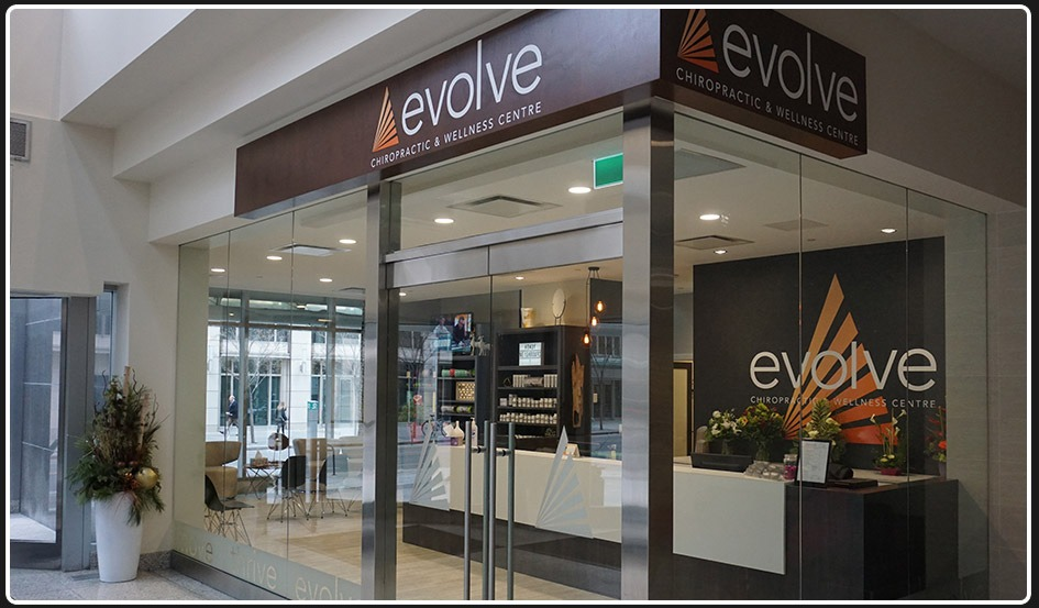Evolve 8th Ave | Clinic Entrance | Evolve Chiropractic and Wellness | Downtown Calgary